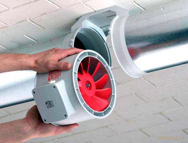Какими бывают канальные вентиляторы?